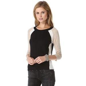 Splendid Parkside colorblock  sweater XS